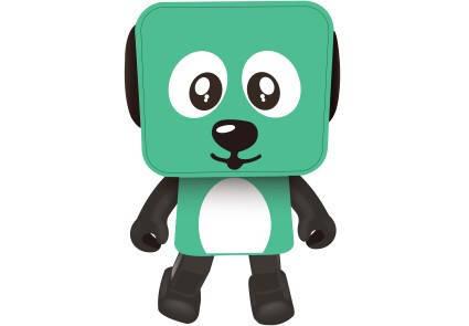 Портативная колонка Nomi Dancing Dog BT 911 Green, фото 2
