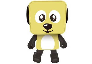 Музыкальная  колонка Nomi Dancing Dog BT 911 Yellow