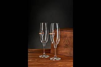 Набір з двох келихів для шампанського, фото 3