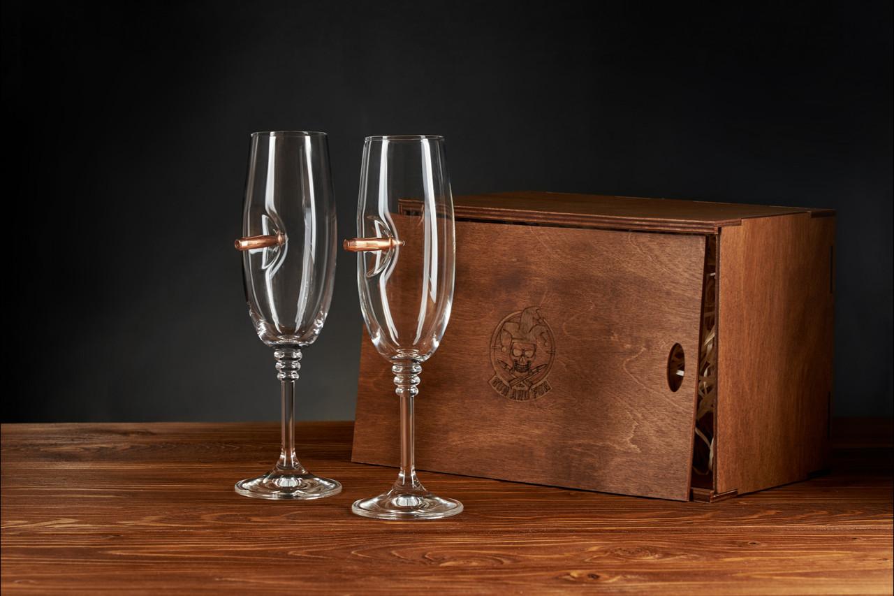 Набір з двох келихів для шампанського