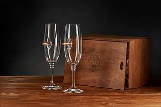 Набір з двох келихів для шампанського, фото 2