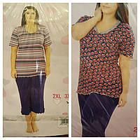 Пижамы баталы вискоза