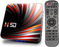 Приставка TV-BOX H50 | 4/64 GB | Rockchip RK3318 | Android TV Box, фото 1