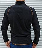 Мужская термо-кофта в стиле Сolumbia из плотного микро флиса, фото 4