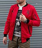 Мужская красная ветровка Puma Ferrari без капюшона, фото 2