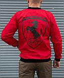 Мужская красная ветровка Puma Ferrari без капюшона, фото 4