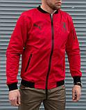 Мужская красная ветровка Puma Ferrari без капюшона, фото 5
