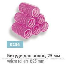 SPL - Бигуди липучки для волос №7 (25мм 10шт) 0256, фото 3