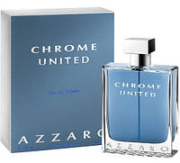 Azzaro Chrome United туалетная вода 100 ml. (Азаро Хром Юнайтед), фото 1