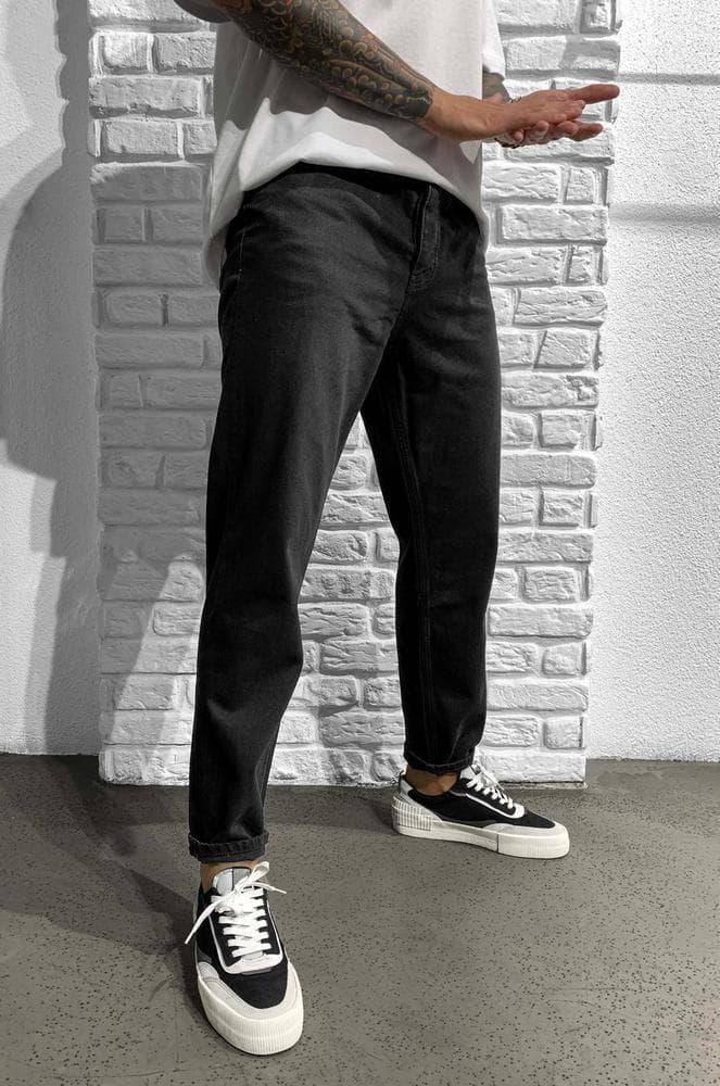 Мужские джинсы МОМ Black Island 5743 black