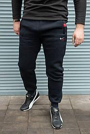 Мужские утепленные спортивные штаны Nike Air темно-синие , ПОЛУБАТАЛ