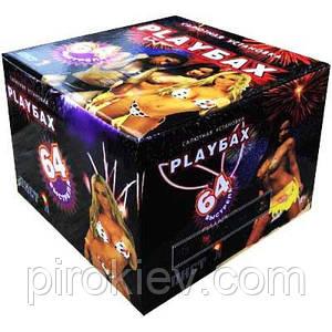 PlayБах PB25064 - фейерверк 64 зар, калибр 25 мм