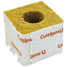 Кубики минеральной ваты Cultilène 7,5x7,5см c большим отверстием 38/35мм