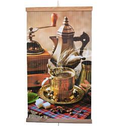Настінний обігрівач-картина інфрачервоний ТРІО 400W, 100 х 57 см, кава