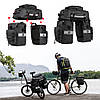 Велосипедная сумка-штаны на багажник Rhinowalk 75 литров (RK19665), фото 6