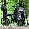 Велосипедная сумка-штаны на багажник Rhinowalk 75 литров (RK19665), фото 7