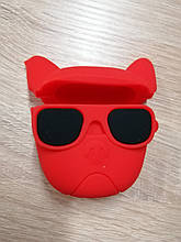 Чохол AirPods Red Dog