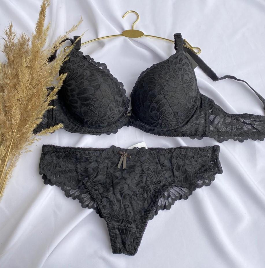 Комплект білизни Biweier чорний (Код 301-30781)