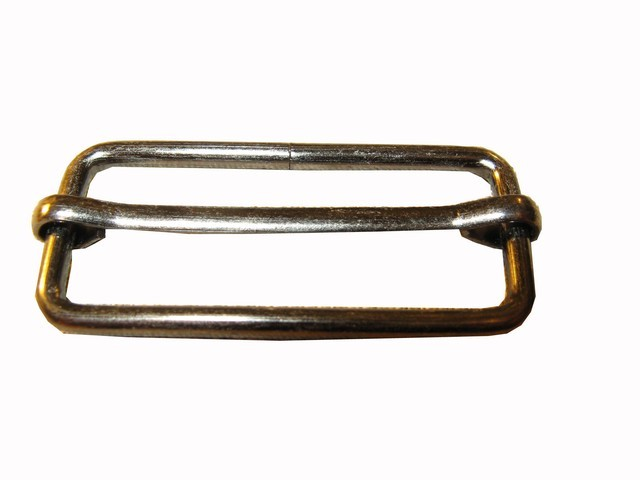 Пряжка 2-х щелевая 40 мм (металл)