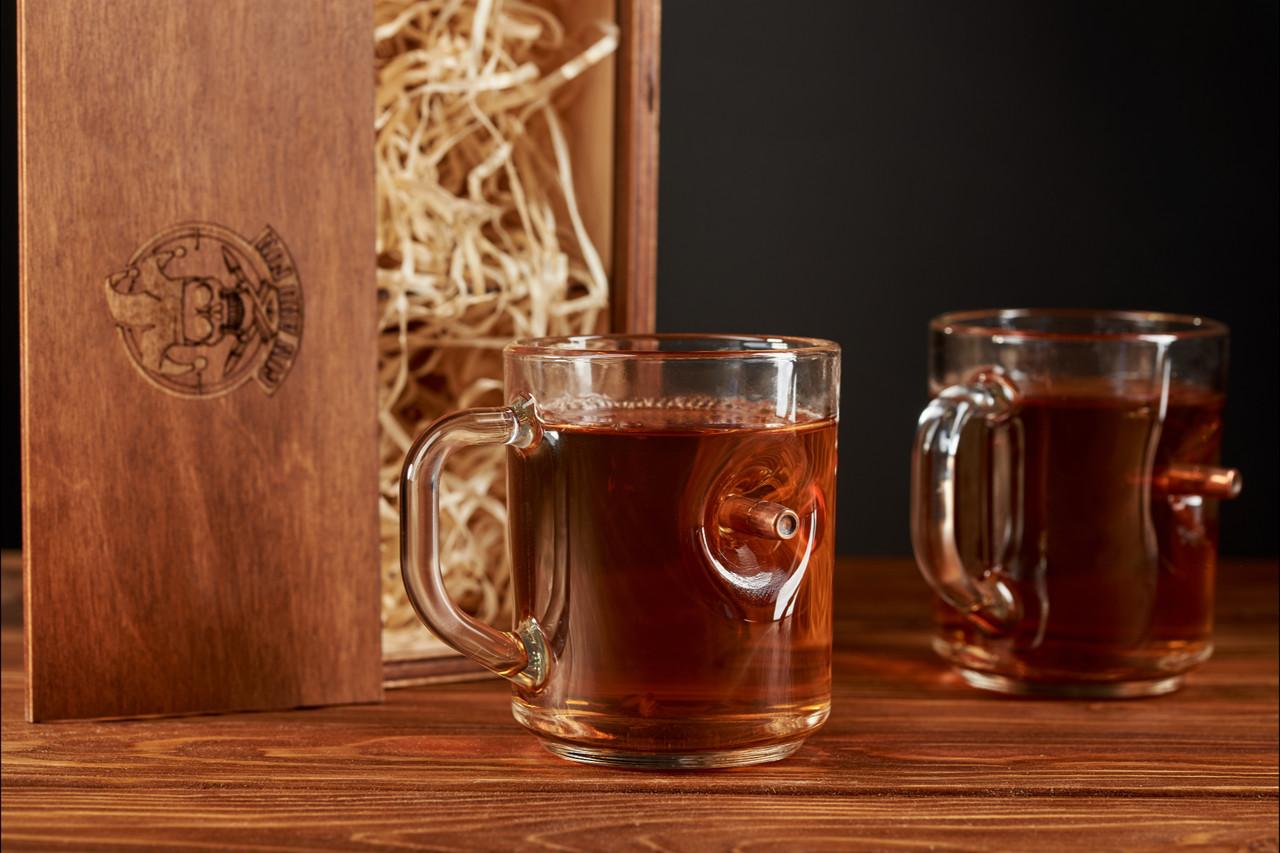 Набір з двох чашок з кулею