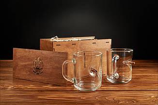Набір з двох чашок з кулею, фото 2