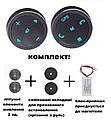 Кнопки управления магнитолой на руле ZIRY DQX-Q2 black 10 кнопок, универсальные с подсветкой LED, фото 2