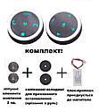 Кнопки управления магнитолой на руле ZIRY DQX-Q2 chrom 10 кнопок, универсальные с подсветкой LED, фото 2