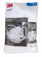 Противоаэрозольный респиратор 3M VFlex 9162Е Премиум FFP2 N95 упаковка 15 шт