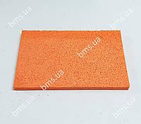 Губка гумова помаранчева 400х200х18 мм