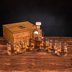 Набор из шести стаканов и графина