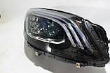 Фары передние Mercedes S-class W222 рестайлинг MULTIBEAM Full LED, фото 5
