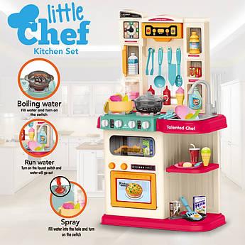 Игровая кухня для детей интерактивная 79см с водой и холодным паром светом и музыкой