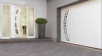 Ворота гаражные секционные LPU 40 серии Design с электроприводом