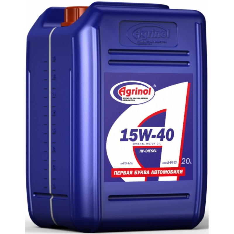 Универсальное моторное масло 15W-40 HP-DIESEL CG-4/SJ 20л