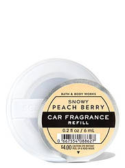 Освежитель воздуха для автомобиля Bath and Body Works Snowy peach berry