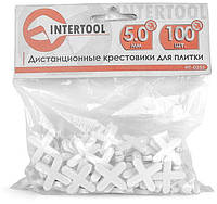 Крестики для плитки Intertool - 5 мм (100 шт.) (HT-0355)