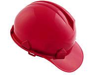 Каска будівельна Intertool - червона
