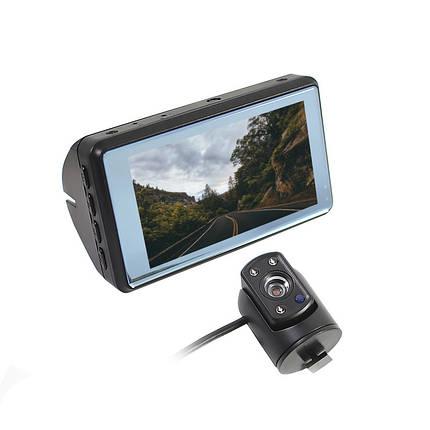 Автомобильный видеорегистратор Lesko T90 microSD непрерывная цикличная запись, фото 2