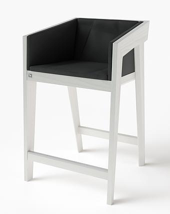 Полубарный стул Air 2 bar s 4 soft white ТМ Kint, фото 2