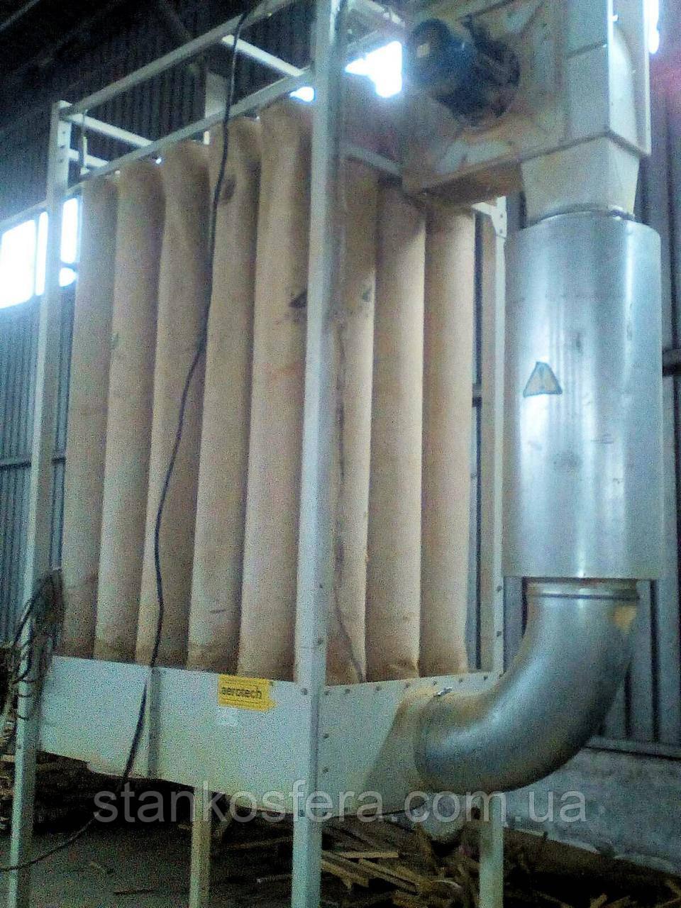 Стружкопылесос Aerotech OWW-2A б/у для деревообрабатывающих станков