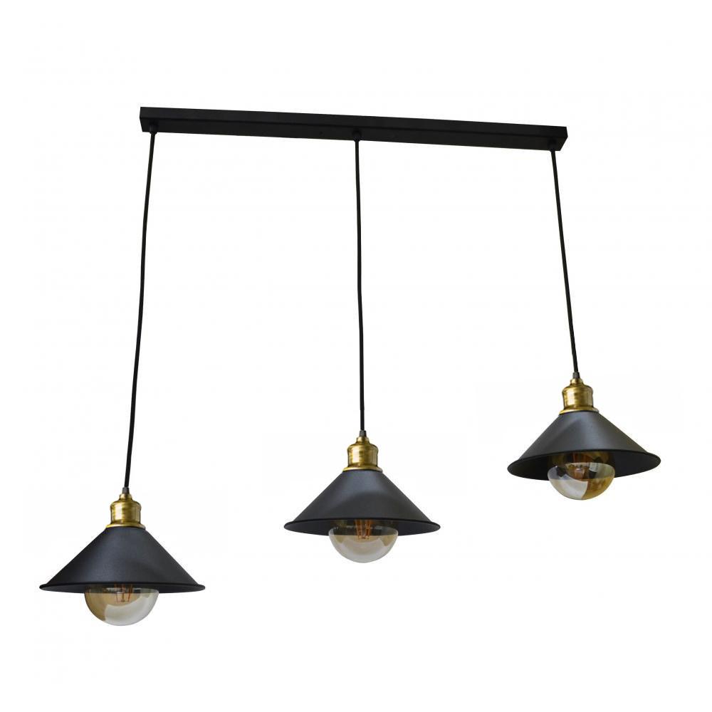 Светильник подвесной на три плафона NL 210-3 MSK Electric