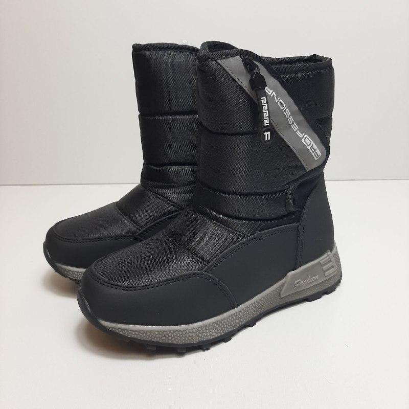 Зимние сапоги для мальчика Tom.m Чёрный р. 38 (23,3 см) маломерят