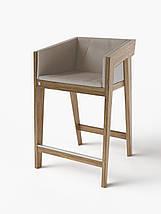 Полубарный стул Air 2 bar s 4 soft light brown ТМ Kint, фото 3