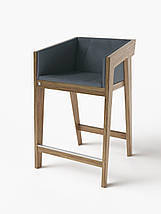 Полубарный стул Air 2 bar s 4 soft light brown ТМ Kint, фото 2