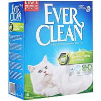 Бентонитовый комкующийся наполнитель для лотков Ever Clean Extra Strong с ароматом свежести (6 л.)