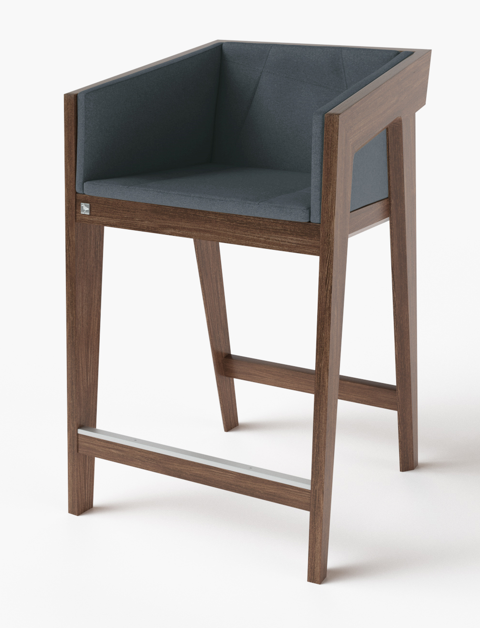 Полубарный стул Air 2 bar s 4 soft brown ТМ Kint