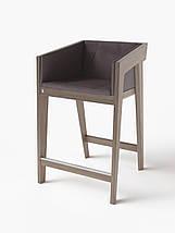Барный стул Air 2 bar m 4 soft grey ТМ Kint, фото 2