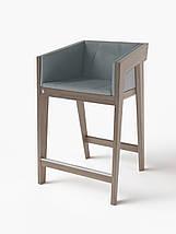 Барный стул Air 2 bar m 4 soft grey ТМ Kint, фото 3