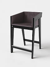 Барный стул Air 2 bar m 4 soft black ТМ Kint, фото 2