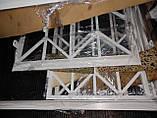 Решетка на окно металлическая распашная размер 2м*h2.12м, фото 7